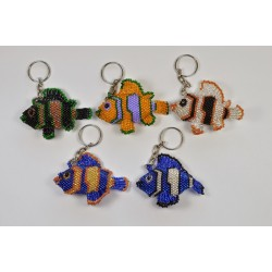 Keychain bead fish