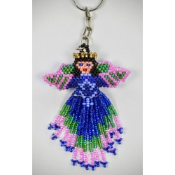 Keychain bead angel