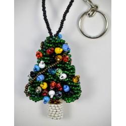 Keychain bead christmas tree