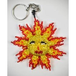 Keychain bead Sun