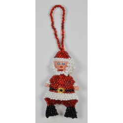 Ornament bead santa