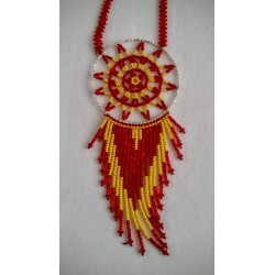 dreamcatcher necklace native american style