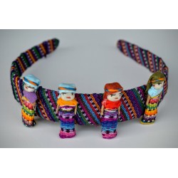 Worry Doll hairband large dolls